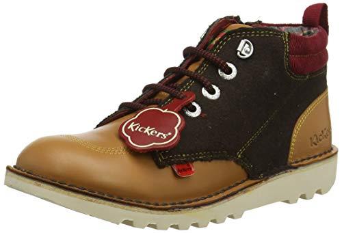 Kickers Herren Kick Hi Winterised Klassische Stiefel, Braun (Light Brown Brwn), 36 EU