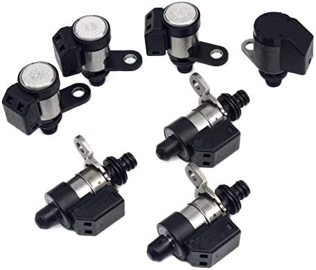 Automatic Transmission Control Sift Solenoid 7pcs Sales results No. 1 Free shipping New Kit RE5R05 Set