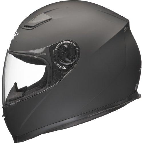 Shox Sniper Solid Motorrad Helm L Schwarz Matt