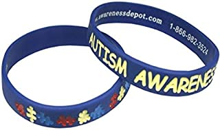 Autism Awareness Bracelets Youth Size (5-Pack)