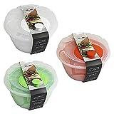 Centrifuga per Insalata Verdura Lava e asciuga Cestino scola Frutta lattuga 4lt in plastica Verde Bianco Arancio-Bianco