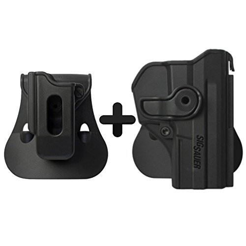 IMI Defense Polymer Roto Retention Tactical Holster For Sig Sauer Pro SP2022/SP2009 + Single Mag Pouch
