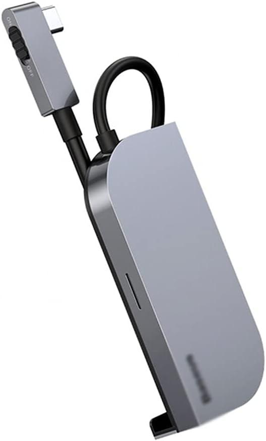 ZZABC USBFXQKCQ Credence 6 in 1 USB C HubType Choice P HD to 4K 3.0 Hub PD