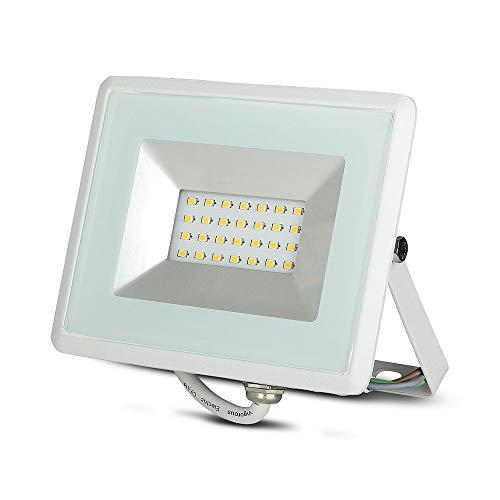 Faro LED SMD 20W E-Series Colore Bianco 3000K IP65