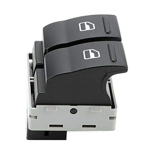 AutOcean para VW Transporter T5 T6 Caravelle Puerta eléctrica Ventana Control de botón de Doble Interruptor Lado del Conductor 7E0959855A9B9