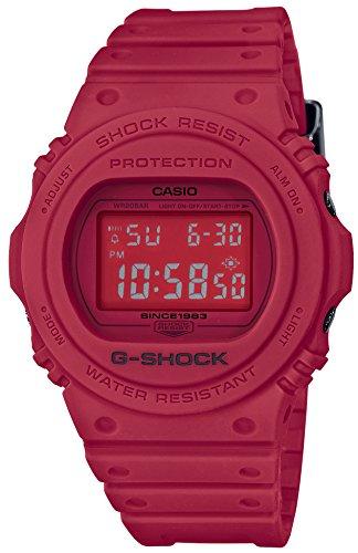 [カシオ] 腕時計 ジーショック 35th Anniversary RED OUT DW-5735C-4JR メンズ レッド