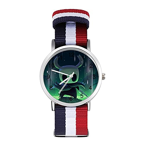 Hollow Knight- Reloj trenzado con escala de moda, ajustable, banda de impresión a color, adecuado tanto para hombres como para mujeres