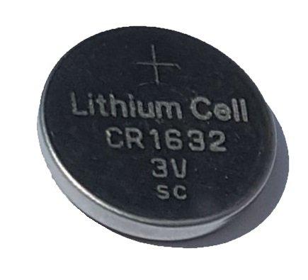50X CR16323V batteria a bottone al litio 120mAh senza marchio ware PKCELL
