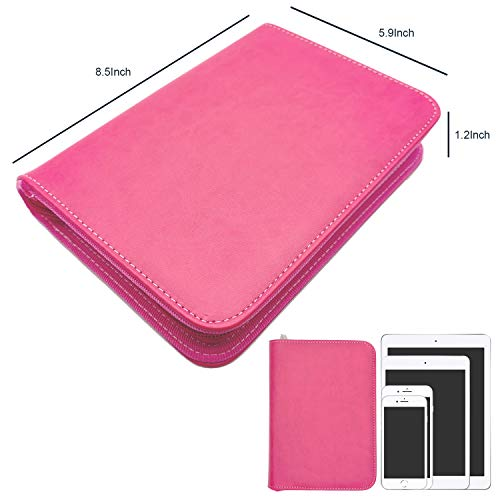 rnairni All-in-One Cash Envelopes Notebook - Finances Organizer Calendar Budget Planner Notebook with 2021 Weekly & Monthly Planner Refill & 12 Budget Envelopes & Budget Sheets (Light Pink) Photo #2