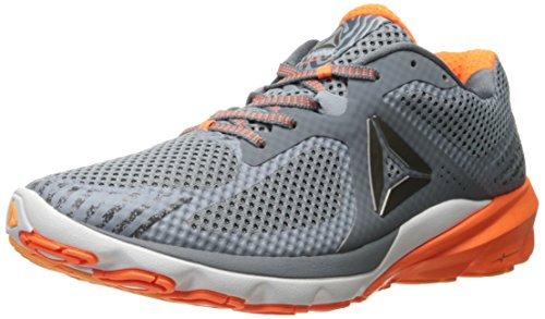 Reebok Men's OSR Harmony Road Running Shoe, Alloy/Asteroid Dust/Wild Orange/Fire Spark/Gable Grey/White, 13 M US