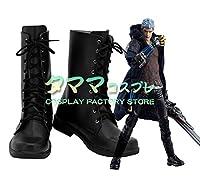 ネロ デビルメイクライ5 Devil May Cry 5 Nero コスプレ靴 コスプレブーツ cosplay オーダーサイズ/スタイル 製作可能 【タママ】(26cm)