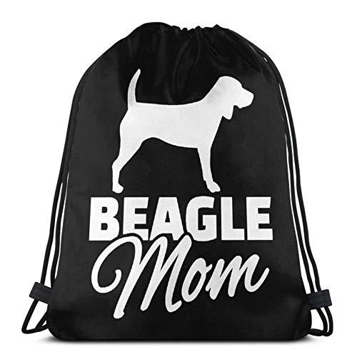 Beagle Mom Drstring Bapa Sports Gym Borsa da viaggio Sapa per bambini Uomo Donna