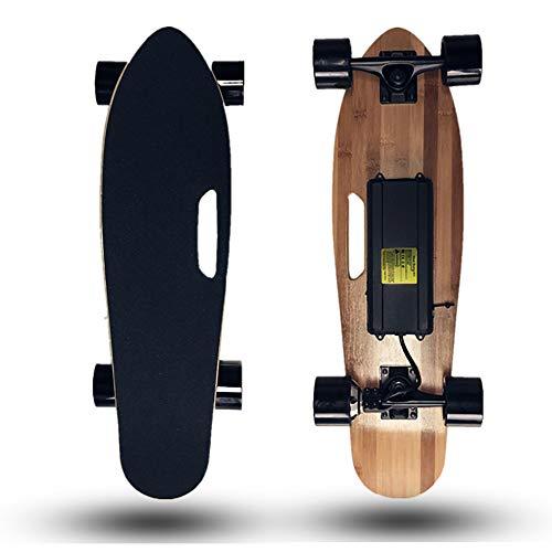 AUNLPB Elektrisches Skateboard mit Fernbedienung, komplette Mini-Cruiser Skateboard Errichtet für Anfänger und Stadt Pendeln, E-Brett für Kinder Mädchen Jungen Teens Erwachsene Jugend