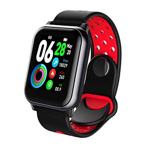 SAILORMJY Fitness trackers, Smart Band,Fitness horloge,Bluetooth verbinding met gezondheid monitoring, informatie push, slaap analyse, stappenteller voor android platform, Apple iOS platform B