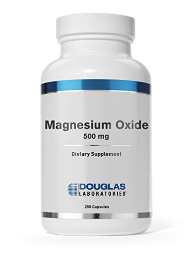 Douglas Laboratories® - Magnesium Oxide - Supports Normal Heart Function and Bone formation* - 250 Capsules