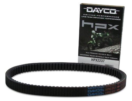 Dayco HPX2237 HPX High Performance Extreme ATV/UTV Drive Belt, Black