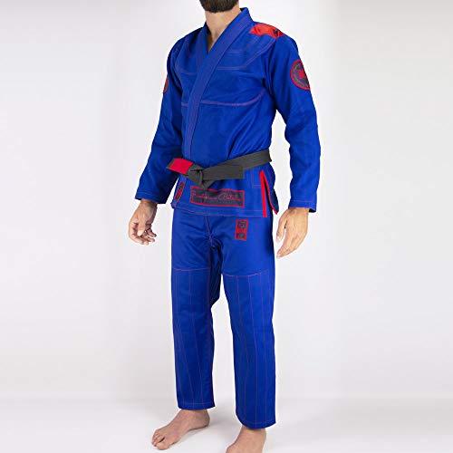 Bõa Pronto BJJ Gi, Kimono brasileño Jiu-Jitsu, Hombre, Color Azul, tamaño A0