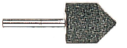 METABO slijpstift 25x32 mm, schacht 6 mm, voor rechte slijpers