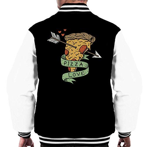 Cloud City 7 Pizza Love Men's Varsity Jacket