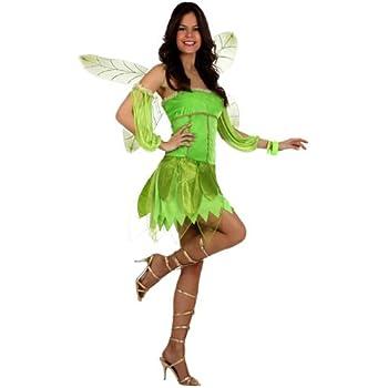 Smiffys-22154M Disfraz de Hada de los bosques, con Vestido, Pieza ...