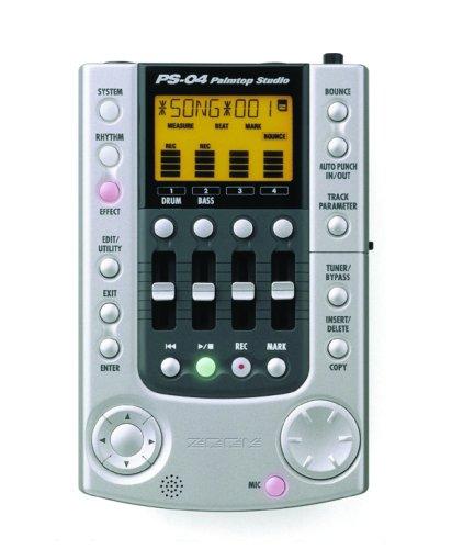 Zoom PS04 Palmtop Studio Multitrack Digital Recorder (4 Tracks)