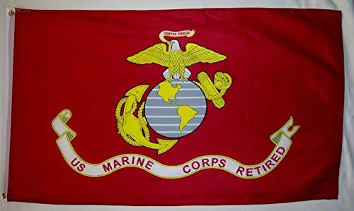 Trade Winds 3x5 US USMC United States Marines Marine Corps Retired Flag 3'x5' Banner Fade Resistant Premium