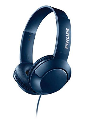 Philips - SHL3070BL - Bass + On-Ear Headphone - 3.5mm Jack - Blue