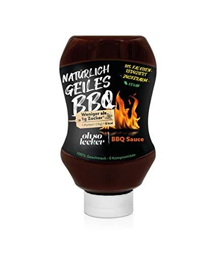 Ohso Lecker BBQ Sauce zuckerarm (350g)