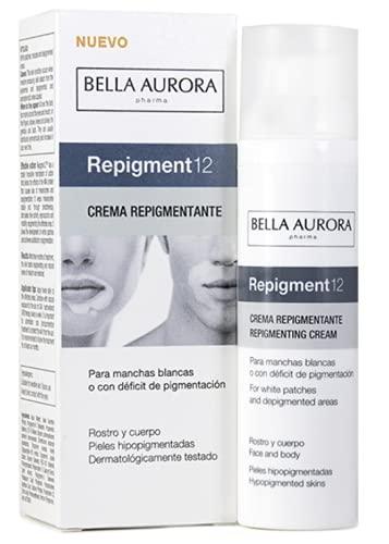 Bella Aurora | Repigmentierende Creme bei weißen Flecken oder Pigmentmangel | 75 ml | Behandlung zur Minderung der ästhetischen Folgen von Vitiligo im Gesicht und am Körper...