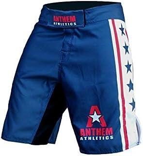 Venum No Gi MMA Fight Shorts Blue Mix Martial Arts Training Cage Gym Nogi