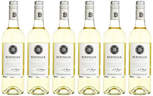 Beringer Classic Chardonnay halbtrocken Wein (6 x 0.75 l)
