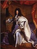 Poster 30 x 40 cm: Ludwig XIV in königlichem Gewand von