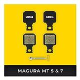 Magura Pastillas de Freno MT-5 MT-7 Type 8 para Freno de Disco Bicicleta I Orgánico I Alto Rendimiento I Durable &...