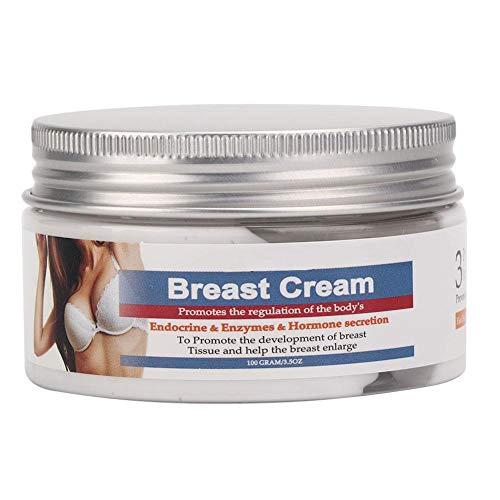 BREAST Push Up Creme, Natürliche Brustvergrößerung, Brustvergrößerungscreme, Straffungs- und Liftingcreme, Busen Volumen Dekolleté und Brüsten 100g