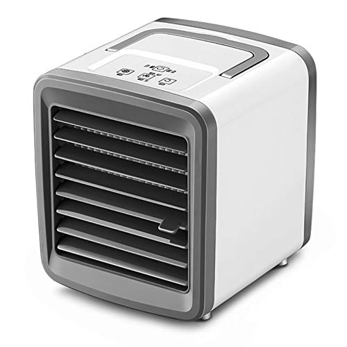 flouris Portable Air Conditioner, Personal Space Air Conditioner Cooler Quiet USB Air Cooler With 2-Speed - 4 In 1 Mini Air Conditioner Fan Purifier For Home Room Office