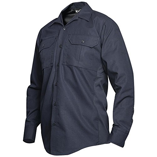 Vertx Men's X-Small Short Phantom Lt Long Sleeve Shirt, Navy