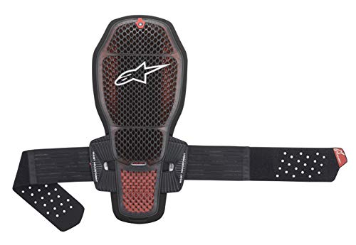 Alpinestars Nucleon KR-R Cell Motorcycle Back Protector, Black/Red, Large