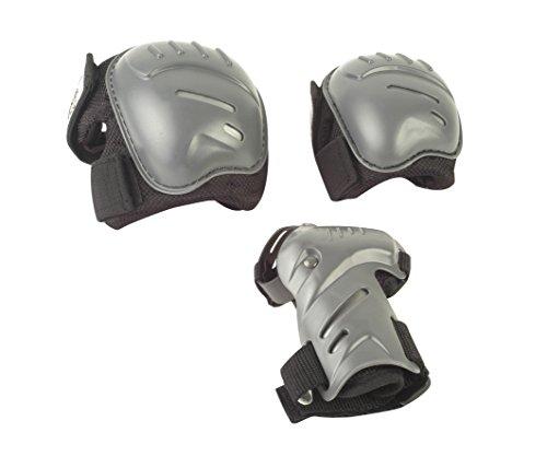 HUDORA Protektoren-Set Erwachsene - biomeschanisch, Gr. S - Schutzausrüstung Schoner - 83029