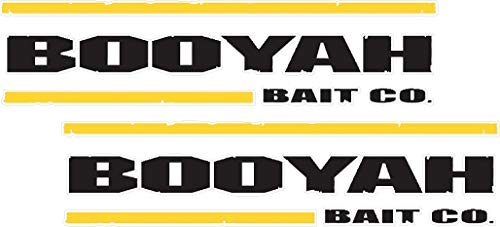 6' Booyah Decal Pair Quality Decal Sticker Tackle Box Fishing Boat Truck Trailer