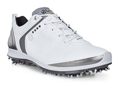ECCO Herren Men's Golf Biom G 2 Golfschuhe, Weiß (58251WHITE/DARK Shadow), 43 EU