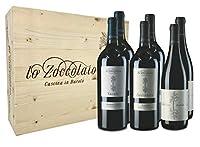 Lo Zoccolaio - Vino Rosso - 2 Barbera d'Alba Sucule + 2 Langhe Baccanera + 2 Barolo - Cassetta Legno 6x750 ml