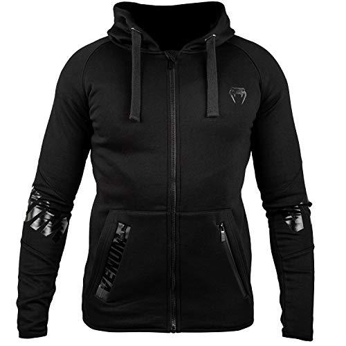Venum Contender 3.0 Sweat-Shirt Homme, Noir/Noir, FR : M (Taille Fabricant : Medium)