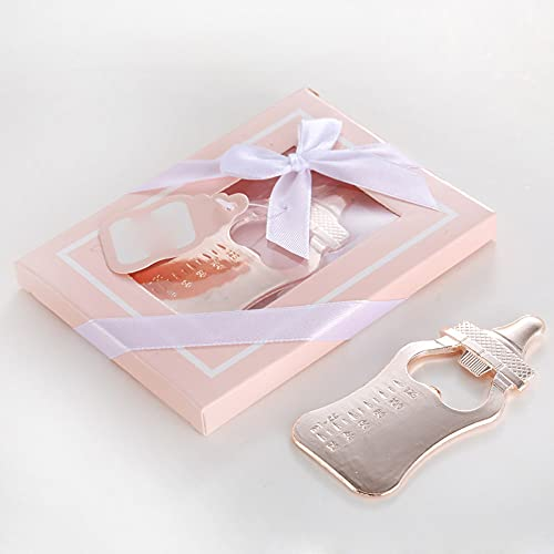 EESLL - Apribottiglie per bambini, 12 pezzi, con apertura per biberon, apribottiglie, apribottiglie, per regali, souvenir (scatola rosa)