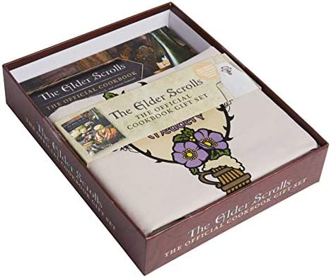 The Elder Scrolls The Official Cookbook Gift Set The Official Cookbook Based on Bethesda Game product image