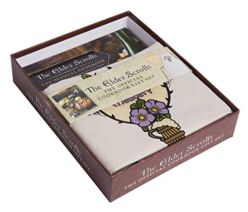 The Elder Scrolls®: The Official Cookbook Gift Set: (The Official Cookbook, Based on Bethesda Game Studios' RPG, Perfect Gift For Gamers)