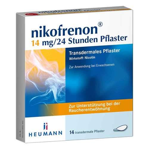 Nikofrenon 14 mg/24 Stunden Pflaster transdermal, 14 St