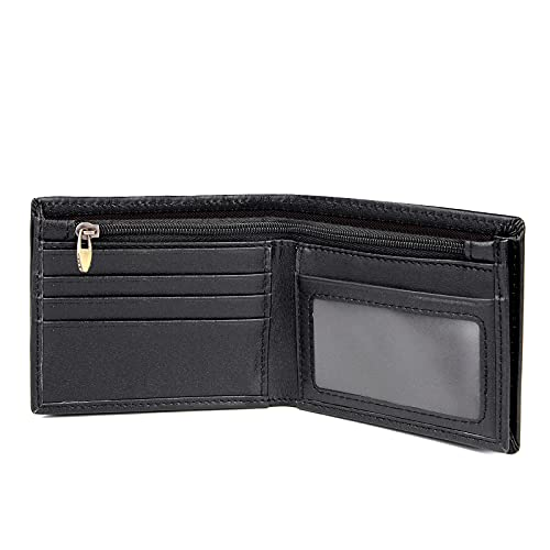 Polare RFID Blocking Napa Leather Bifold Wallet For Men With Gift Box (Small)