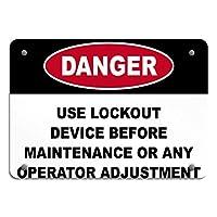 屋外用にパーソナライズされた警告静的接地装置の使用危険ラベル、公園の標識公園のガイドABC警告標識私有財産の金属屋外の危険標識