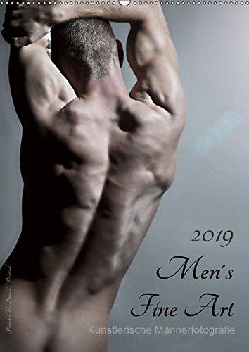 Men´s Fine Art - Künstlerische Männerfotografie (Wandkalender 2019 DIN A2 hoch): Mit diesem Titel präsentiert uns Patrick Mc Donald seine Idee ... 14 Seiten ) (CALVENDO Menschen)