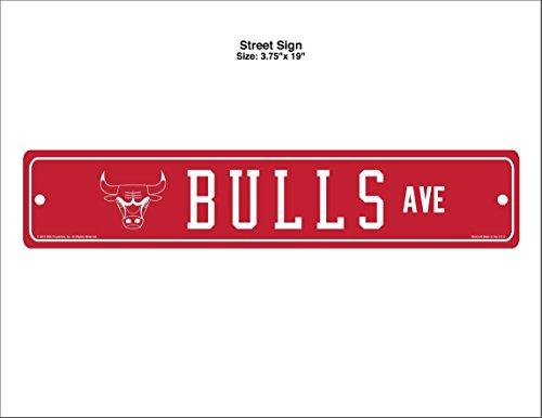 NBA Chicago Bulls Street Sign